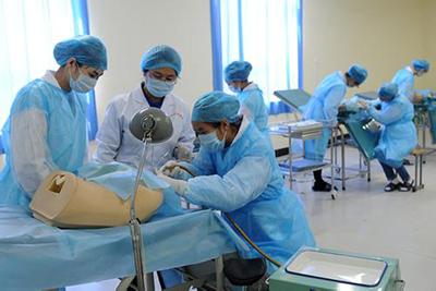 贵州中医药职业学校-临床医学专业学生实践